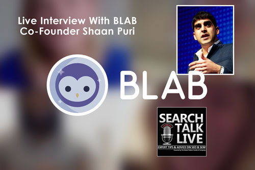 Shaan Puri on Search Talk Live Digital Marketing Podcast