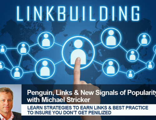 Penguin, Links & New Signals of Popularity with Michael Stricker